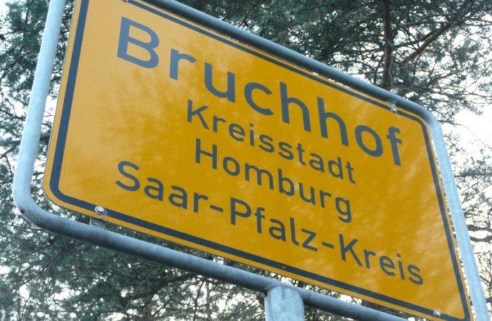 Weitere Baustelle bis Oktober in der Kaiserslauterer Str. in Bruchhof